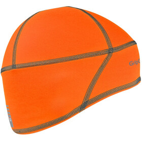 GripGrab Lightweight Thermal Hi-Vis Skull Cap orange hi-vis